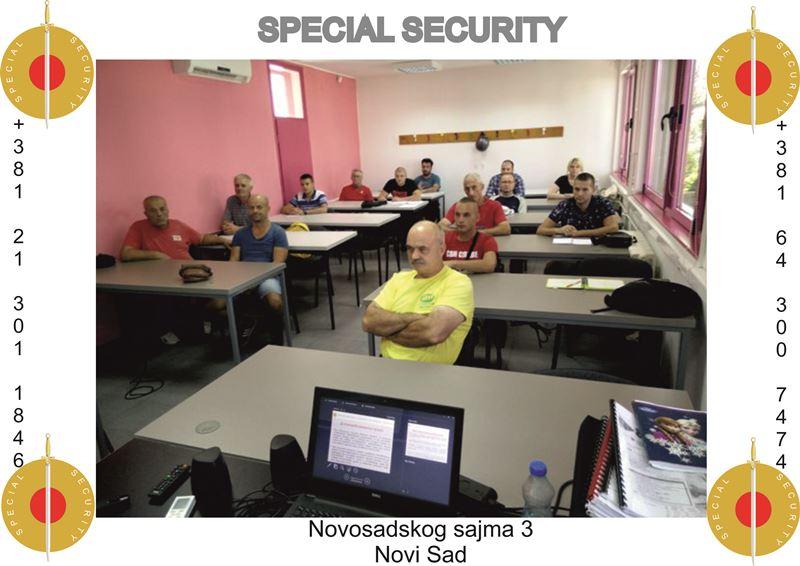 Završena obuka za službenike obezbeđenja (O-2) u Novom Sadu