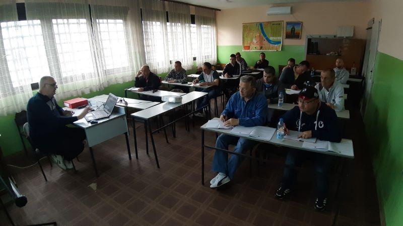 Obuka radnika fizičkog obezbeđenja u Šapcu