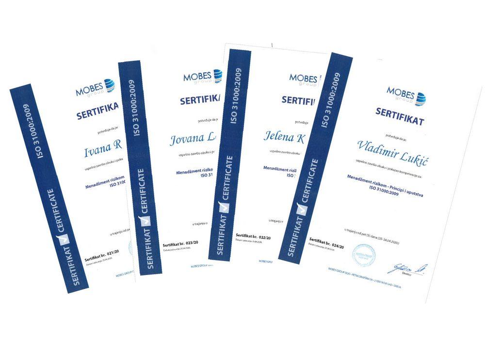 Standardi i sertifikati